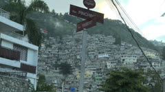 Streets of Haiti Stock Footage