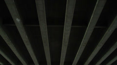 Under a Bridge - stock footage