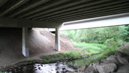 Stock Video Footage of Under a Bridge