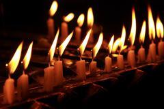 Candle light Stock Photos