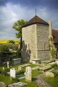 Eleventh century church - stock photo