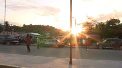 Haiti street market Stock Footage