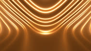 Stock Video Footage of Soft Golden Abstract Looping Animated Background