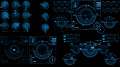 Data Hud - stock footage