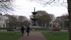 Steine Gardens Stock Footage
