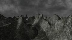 Alien Landscape (Version #2) Stock Footage