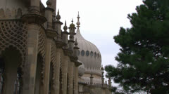 Indian Style Architecture Stock Footage