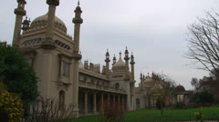 Brighton Royal Pavilion Gardens Stock Footage