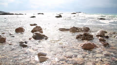 Greek Beach Stock Footage