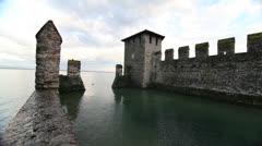 Castle moat Stock Footage