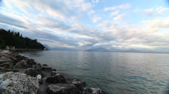 Lake Garda, Italy Stock Footage