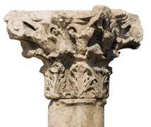 Amman Citadel, Al-Qasr site - stock photo