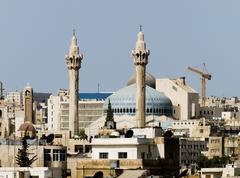 New Amman mosque Stock Photos