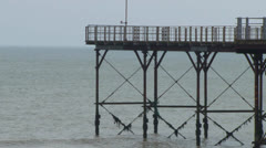 Pier End Stock Footage