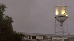 Water Tower MS Stock Footage