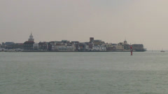 Portsmouth Old Town Stock Footage