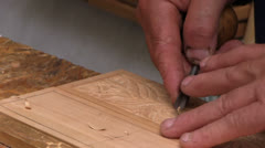 Hungary - carver Stock Footage