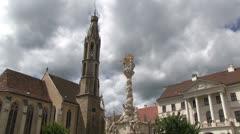 Hungary - Sopron Stock Footage