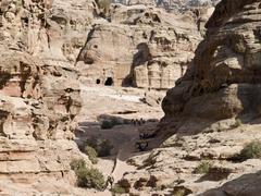 petra jordan - stock photo