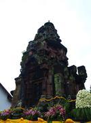 the ancient khmer laterite shrine in sakon nakorn, thailand. - stock photo