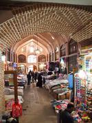 Tabriz, iran - may 2: interior of tabriz bazaar on may 2, 2011 in tabriz, ira Stock Photos
