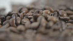 ESPRESSO BEANS 4 Stock Footage