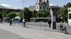 Budapest Hungary Timelapse Daytime 3 Stock Footage
