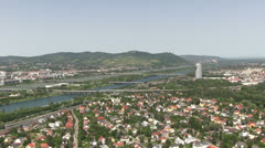Vienna - austria - skyline Stock Footage