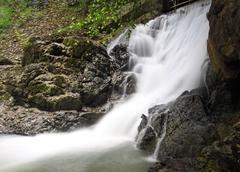 Waterfall in phangnga thailand Stock Photos