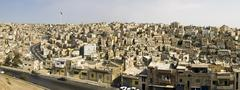 Panorama of Amman Stock Photos