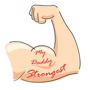 My Daddy Strongest Stock Illustration