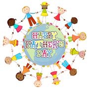 Stock Illustration of Happy Father's Day Background
