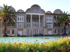 Travel Iran: Qavam house in Shiraz Stock Photos