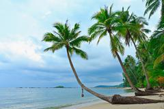 view of kood island, east of thailand - stock photo