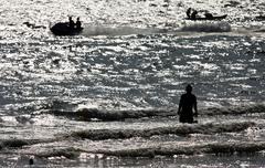 view of pattaya beach, thailand - stock photo