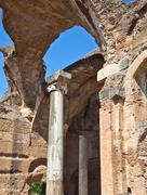 Roman columns Stock Photos