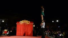 Tresperté Circo Stock Footage
