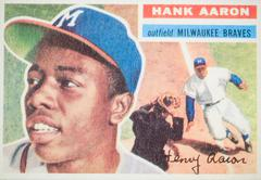 Hank Aaron Baseball Card Stock Illustration