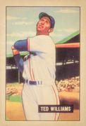 Ted Williams Baseball Card Stock Illustration