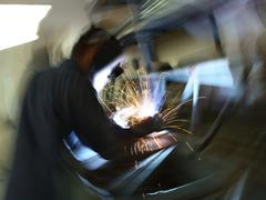Abstract welding Stock Photos