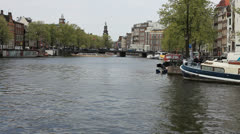 Amsterdam, Netherlands Stock Footage