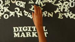 Digital Marketing Stock Footage