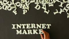 Internet Marketing Stock Footage