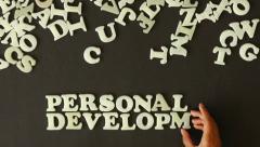Personal Development Stock Footage