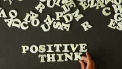 Positive Thinking Stock Footage