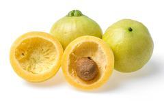 syzygium jambos rose apple - stock photo