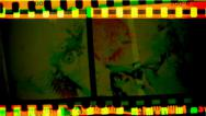 Film damage. Stock Footage