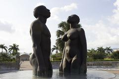 Jamaika - Emancipation Park patsas 6 Kuvituskuvat