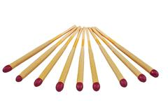 Group of matches sticks Stock Photos