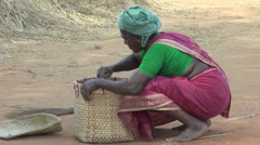 India Chettinad women with rice straw editorial s Stock Footage